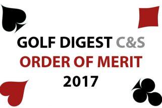 GOLF DIGEST C&S ORDER OF MERIT 2017